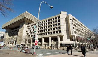 ** FILE ** The Federal Bureau of Investigation headquarters in Washington (AP Photo/Manuel Balce Ceneta)