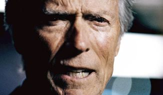 "Some critics see a political tilt in President Obama's favor in Chrysler's ""It's Halftime in America"" commercial featuring Clint Eastwood. (Chrysler Group via Associated Press)"