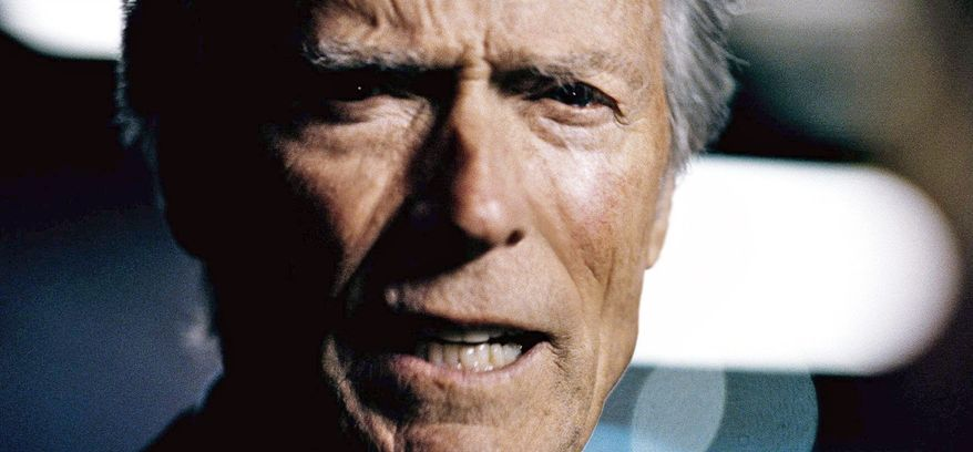 """Some critics see a political tilt in President Obama's favor in Chrysler's """"It's Halftime in America"""" commercial featuring Clint Eastwood. (Chrysler Group via Associated Press)"""