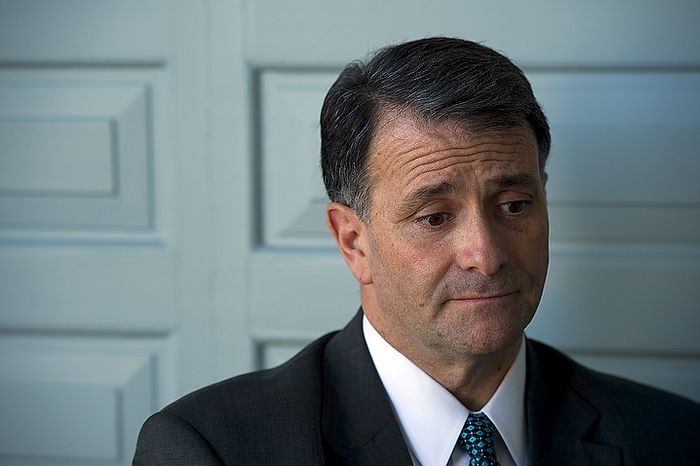** FILE ** Former lobbyist Jack Abramoff talks Feb. 6, 2012, with consumer-rights organization Public Citizen in D.C.  about his lobbying experience and his hope for change in the lobbying system. (Barbara L. Salisbury/The Washington Times)