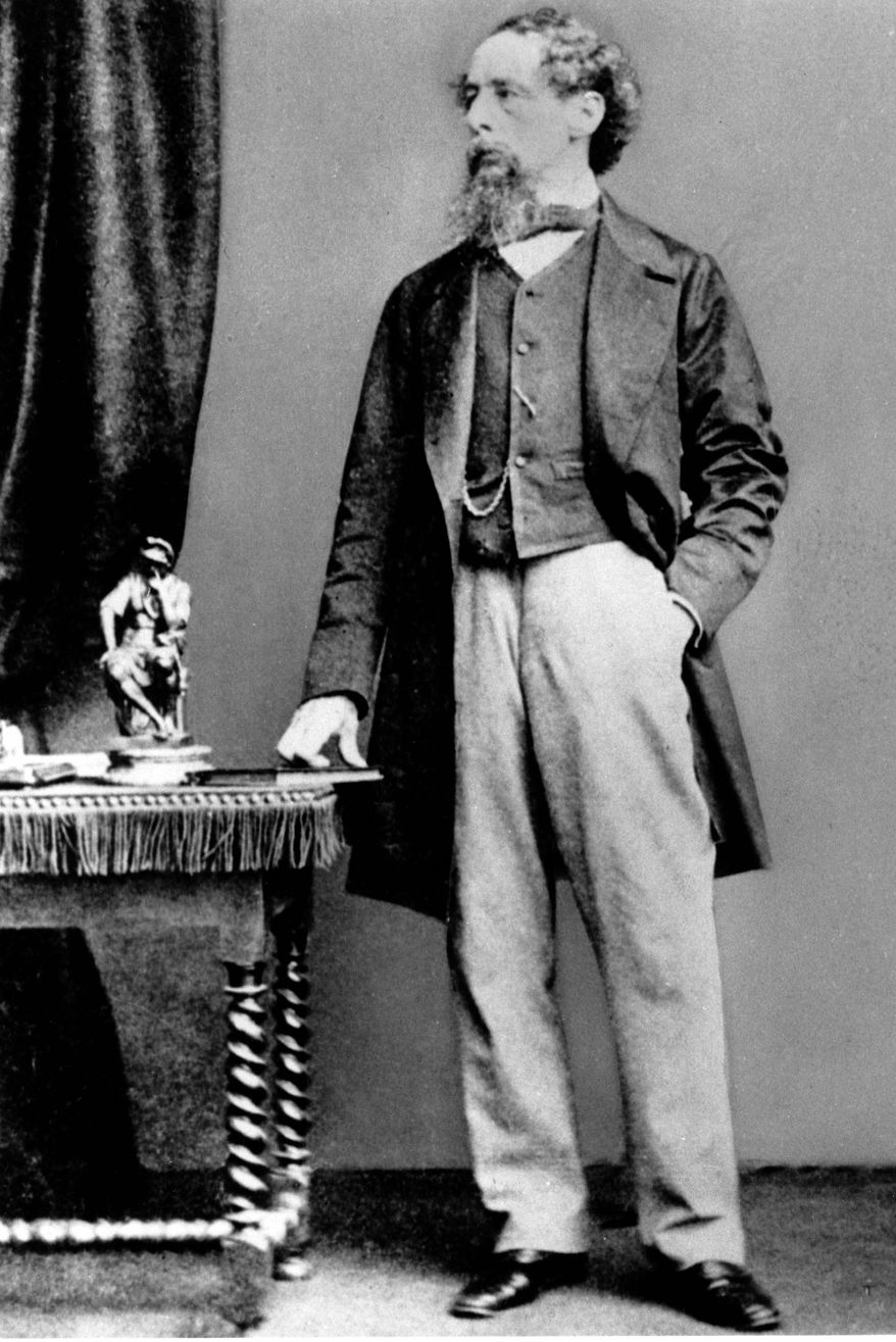 The 200th birthday of Charles Dickens was marked in his native England on Tuesday. His novels and characters are more popular than ever. (Associated Press)