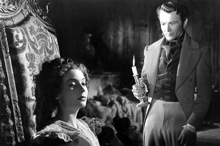 """Valerie Hobson and John Mills star in the 1946 film adaptation of Charles Dickens' """"Great Expectations."""" (Courtesy The Criteron Collection)"""