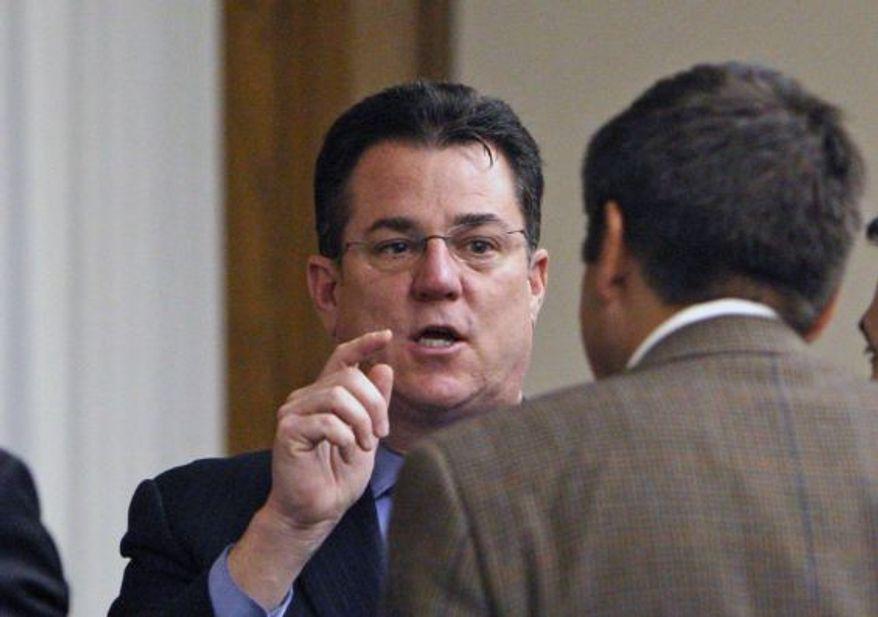 Delegate David B. Albo, Fairfax Republican (AP Photo/Richmond Times-Dispatch, Bob Brown)