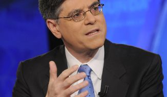 ** FILE ** Jacob Lew. (Associated Press/Fox News)
