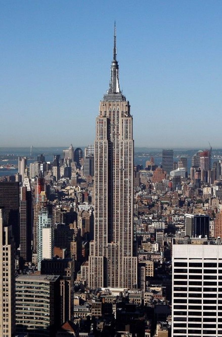 New York's Empire State Building looms as an investment opportunity. The company that runs the building is planning a stock offering, according to documents filed Monday. (Associated Press)