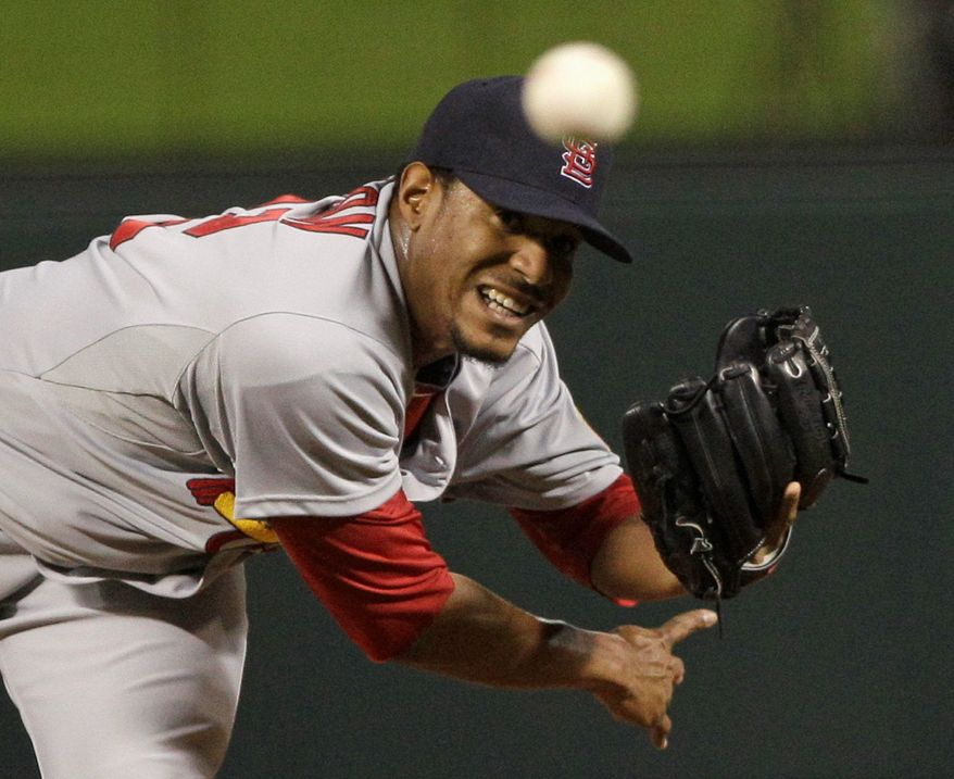 Edwin Jackson signed a one-year deal with the Nationals worth $11 million. The rest of the starting rotation will make a combined $17.5 million in 2012. (Associated Press)