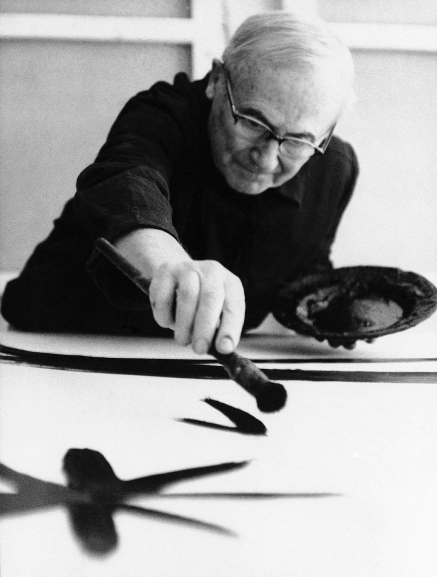 Joan Miro painted some of his most famous works at his farm. Tourist officials for the town and region where it is located say they can't afford to restore and maintain it, and the Joan Miro Foundation says the same. It is up for sale. (Associated Press)