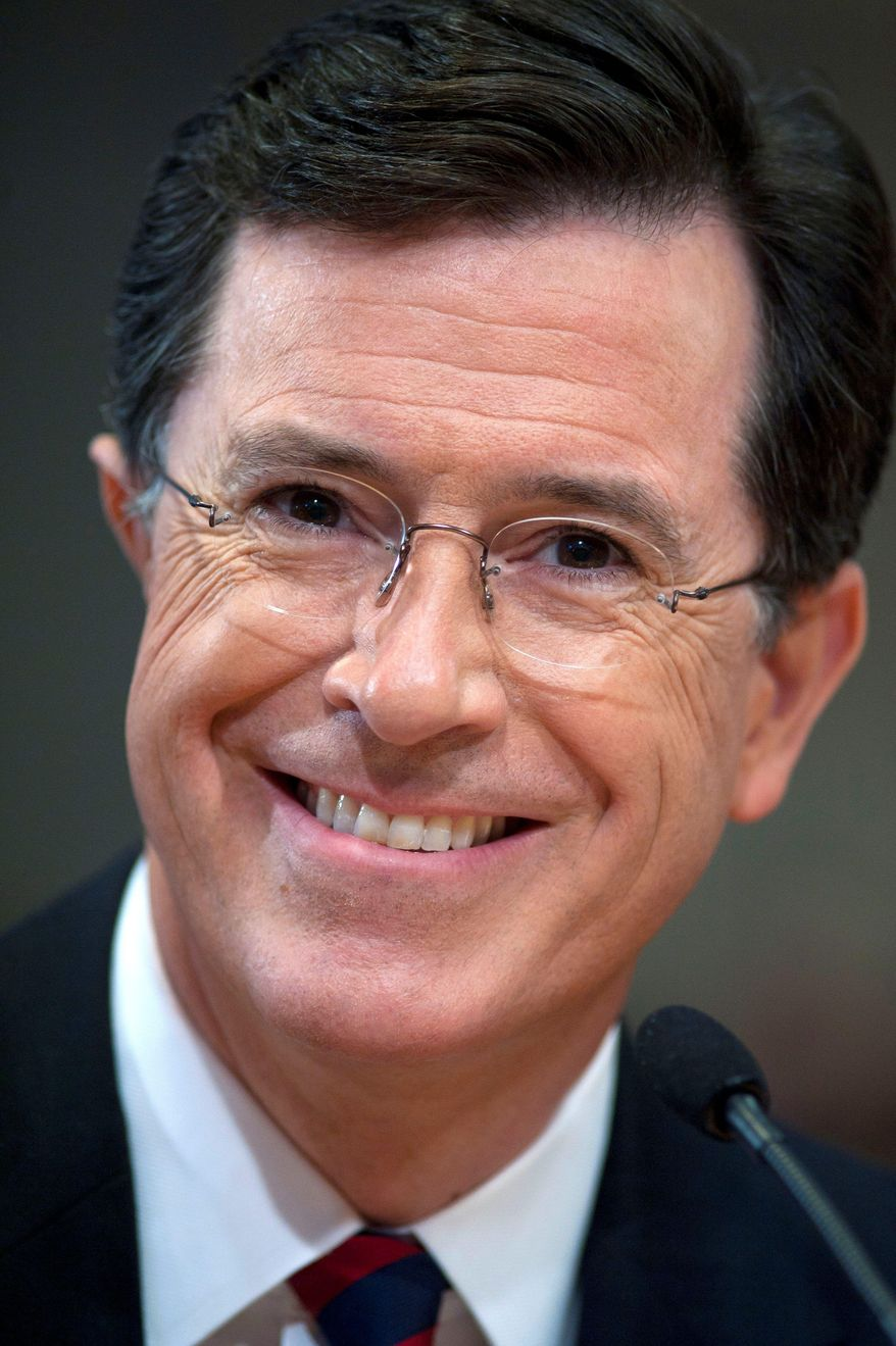Stephen Colbert (AP photo)