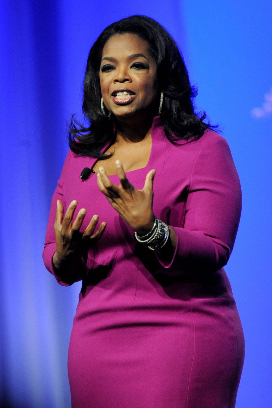 Oprah Winfrey (AP photo)