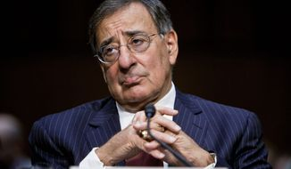 ** FILE ** Defense Secretary Leon E. Panetta (T.J. Kirkpatrick/The Washington Times)