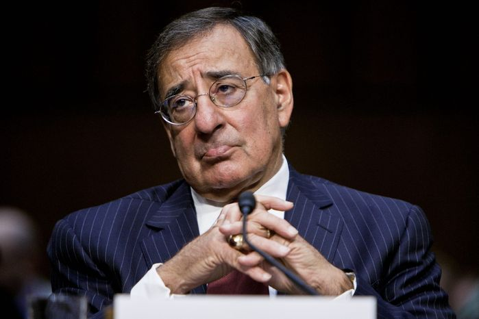 ** FILE ** Defense Secretary Leon E. Panetta (T.J. Kirkpatrick/The Washington Times)