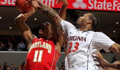 Maryland forward Mychal Parker (11). (Associated Press)
