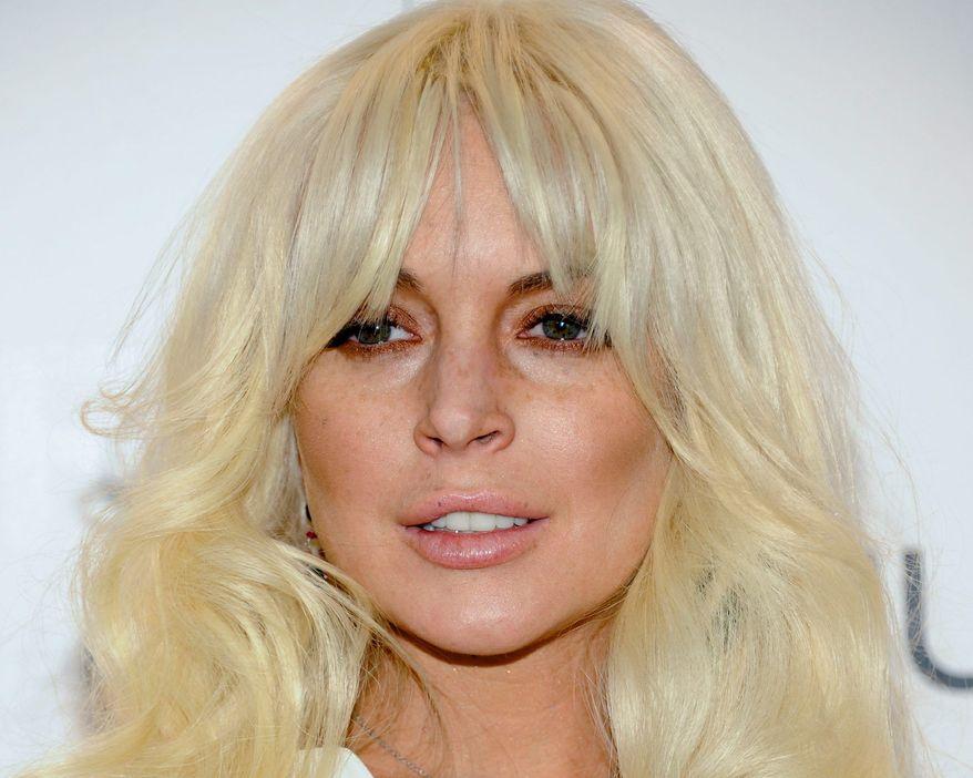 ** FILE ** Lindsay Lohan (Associated Press)