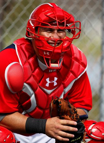 Nationals catcher Wilson Ramos batted .267 with 15 home runs and 52 RBI during his rookie season. (Associated Press)