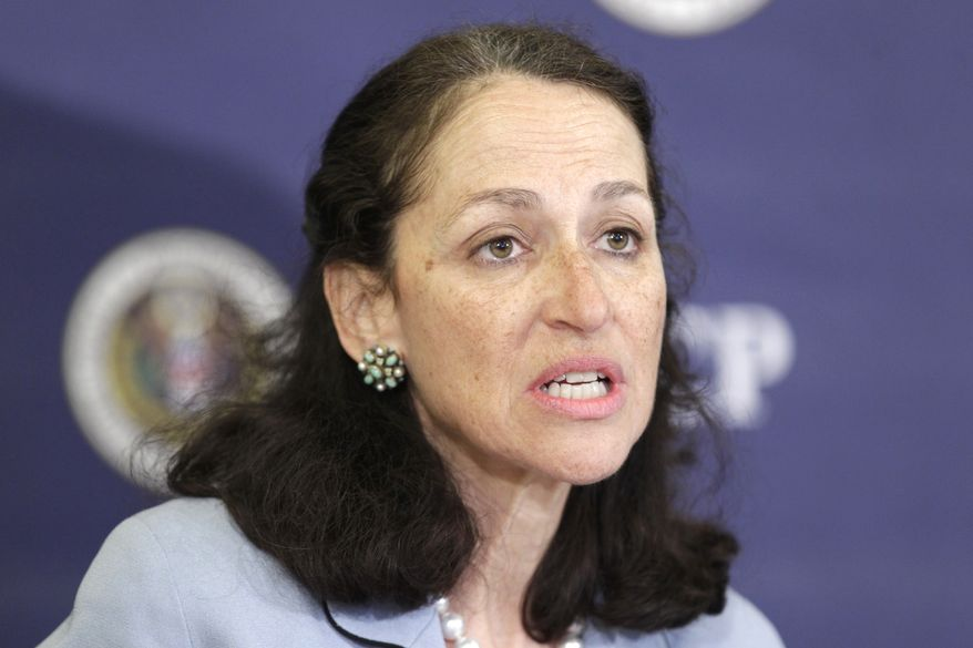 ** FILE ** Dr. Margaret Hamburg is commissioner of the Food and Drug Administration. (AP Photo/J. Scott Applewhite, File)