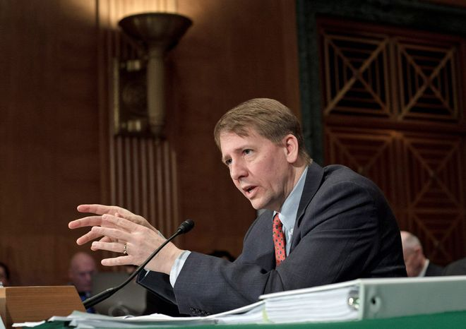 **FILE** Richard Cordray, director of the Consumer Financial Protection Bureau. (Associated Press)