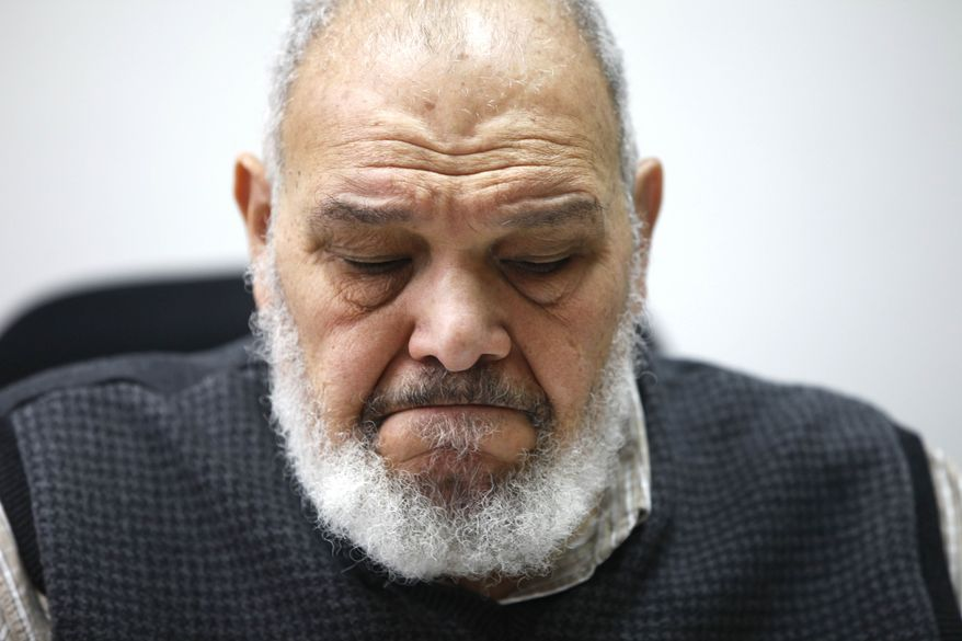 Mohammed el-Sioufi, an accountant and vice president of the Islamic Culture Center, a mosque in Newark, is interviewed by the Associated Press about the New York Police Department's surveillance of the Muslim community in Newark, N.J., Wednesday, Feb. 15, 2012. AP Photo/Charles Dharapak)