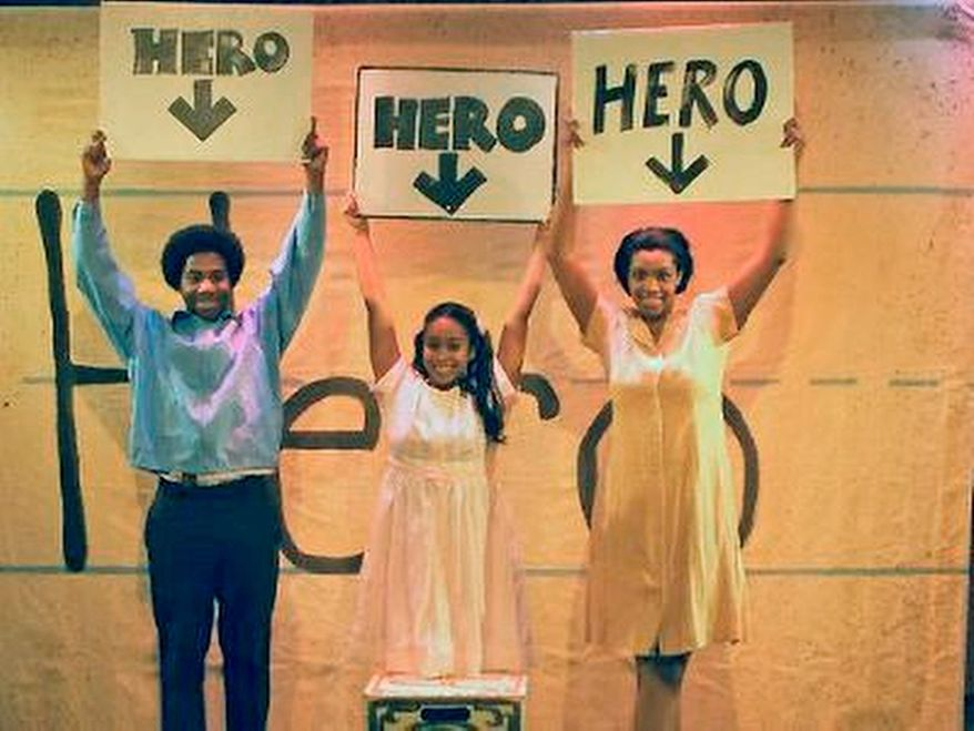"""How Old Is a Hero?"""" at Smithsonian's Discovery Theater."""