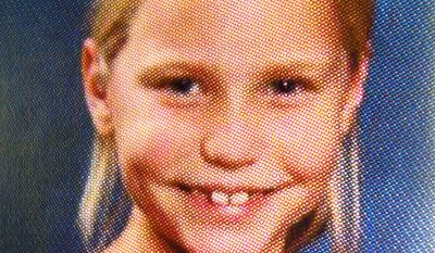 This undated photo released Feb. 22, 2012, by the Etowah County Sheriff's Office shows 9-year-old Savannah Hardin, who authorities said died after being forced to run without stopping for three hours by her grandmother and stepmother as punishment. (Associated Press/Etowah County Sheriff's Office)