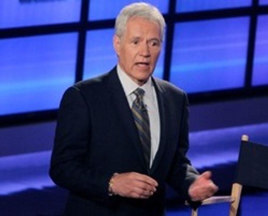 """""""Jeopardy!"""" host Alex Trebek (Associated Press)"""
