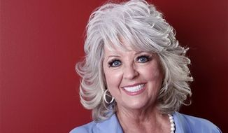 In this Tuesday, Jan. 17, 2012 photo, celebrity chef Paula Deen poses for a portrait in New York. A month after being widely criticized for revealing she has diabetes, as well as a lucrative endorsement deal for a drug to treat it, Paula Deen says she's ready to show a lighter side to her famously fatty Southern-style cooking. (AP Photo/Carlo Allegri)