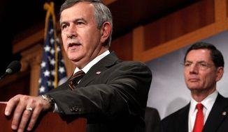 **FILE** Sen. Mike Johanns, Nebraska Republican (Associated Press)