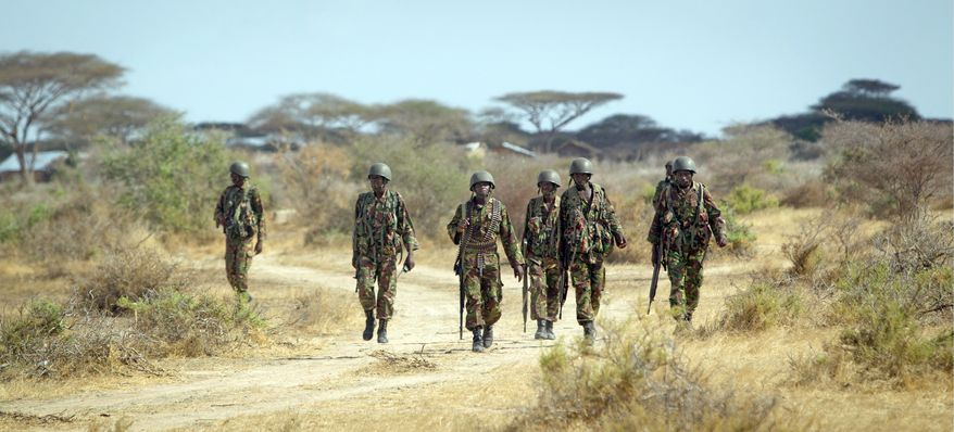 Kenyan soldiers have turned their image from inexperienced invaders into a pivotal presence in the fight against al-Shabab terrorists in Somalia. The combined forces of Kenyan and African Union troops have taken control of 80 percent of the Gedo region. (Associated Press)