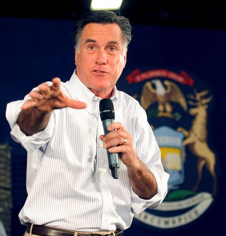 Republican presidential candidate Mitt Romney has received the endorsements of immigration hard-liners such as Arizona Gov. Jan Brewer, former California Gov. Pete Wilson and Kansas Secretary of State Kris Kobach. (Associated Press)