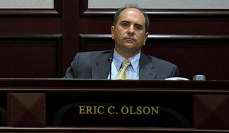 ** FILE ** Prince George's County Council Vice Chairman Eric C. Olson