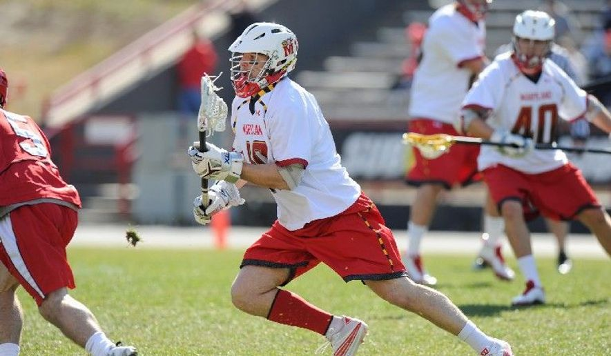 Maryland midfielder Michael Shakespeare is enjoying a solid senior season after working though a coaching change and battling Lyme disease earlier in his career. (University of Maryland Athletics)
