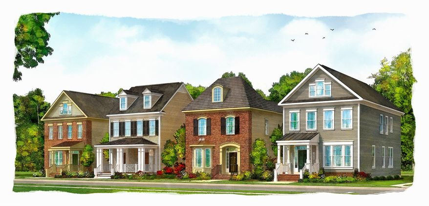 Miller & Smith is building 51 single-family homes at the Fells Point Collection at Maple Lawn in Fulton. The homes, which have four or five bedrooms, are priced from $559,990. Homeowner association fees are $183 per month.