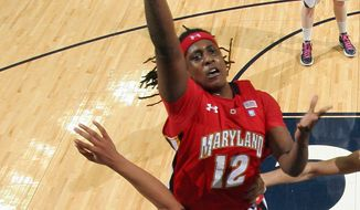 Maryland center Lynetta Kizer says a loss in January to Virginia Tech turned the Terps around. The team went on a 7-1 run and enters the ACC tournament as the third seed. (Associated Press)