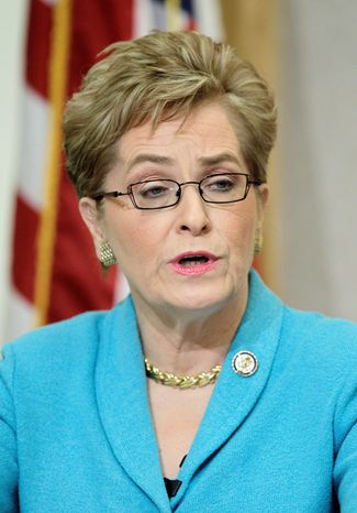 Reps. Marcy Kaptur and Dennis J. Kucinich have served a combined 42 years in Congress representing neighboring Ohio districts. With a new legislative map, however, the longtime friends must run against each other in the Democratic primary on Super Tuesday. Pundits say the race in the new 9th District is too close to call. (Associated Press)