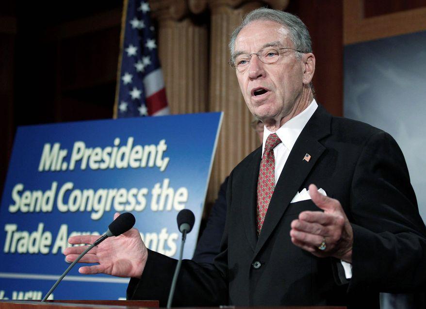 Sen. Chuck Grassley, Iowa Republican