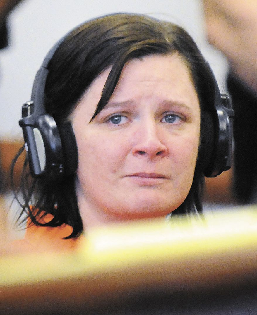 **FILE** Kathy Coy, of Morgantown, Ky., shown in this photo from April 19, 2011, pleaded guilty but mentally ill on Feb. 17, 2012, to killing Jamie Stice, an expectant mother, and taking her baby in 2011. (Associated Press/Daily News)