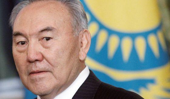 Kazakh President Nursultan Nazarbayev (Associated Press/File)