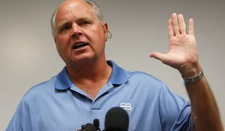 ** FILE ** Rush Limbaugh. (Associated Press)