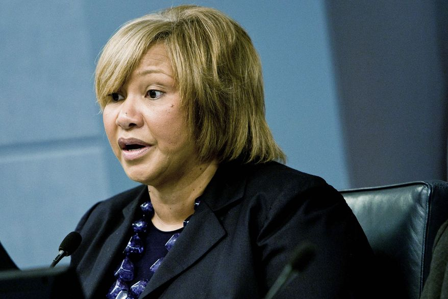 D.C. Council member Yvette M. Alexander hopes to relocate the only eligible medical-marijuana cultivation center to a site in her ward east of the Anacostia River. (T.J. Kirkpatrick/Special to The Washington Times)