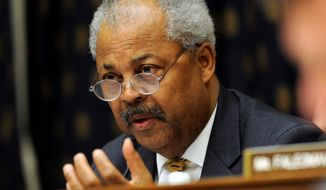 Rep. Donald M. Payne, New Jersey Democrat, once headed the Congressional Black Caucus and was a current member of the House foreign affairs and education and the workforce committees. He died Tuesday from cancer. (Associated Press)