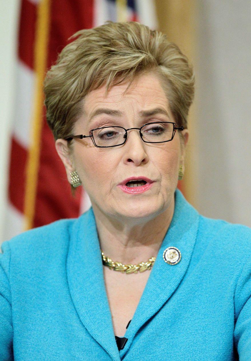 Rep. Marcy Kaptur, Ohio Democrat (AP Photo/Mark Duncan)