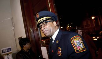 Fire Chief Kenneth B. Ellerbe served 27 years in the D.C. Fire and Emergency Medical Services Department during his first tour of duty in the District, before leaving for Sarasota, Fla. (Rod Lamkey Jr./The Washington Times)
