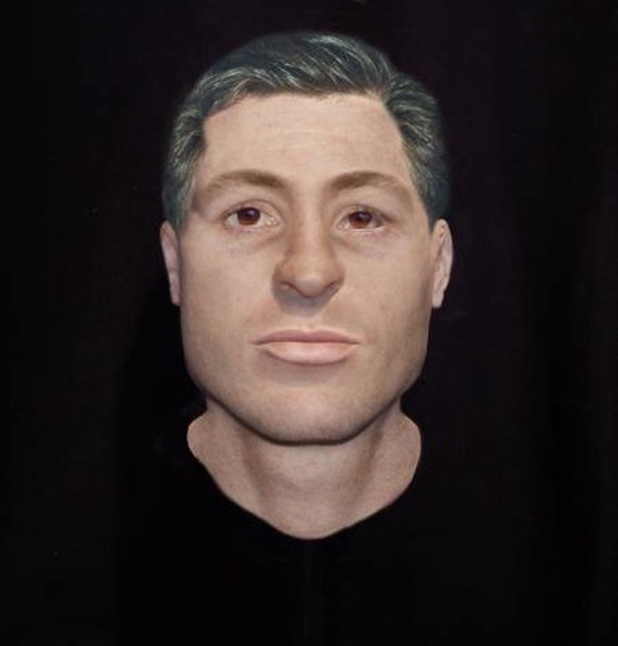 Facial images based on forensic reconstruction of skeletal remains of two sailors aboard the USS Monitor, a CIvil War-era ironclad ship that sank in 1862,  have prompted one federal agency to ask the public: do you know these men? (Images from NOAA)