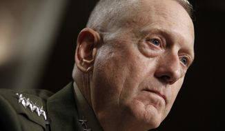 Marine Corps Gen. James N. Mattis. (AP Photo/Alex Brandon) ** FILE **