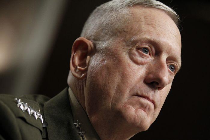 Marine Corps Gen. James N. Mattis. (AP Photo/Alex Brandon) ** FILE **
