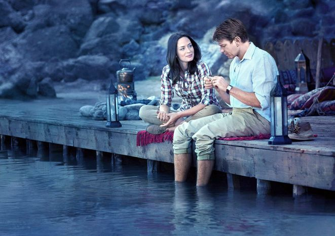"""Emily Blunt and Ewan McGregor star in """"Salmon Fishing in the Yemen,"""" a quirky British love story that doesn't quite live up to its appealing premise. (Photo courtesy CBS Film)"""