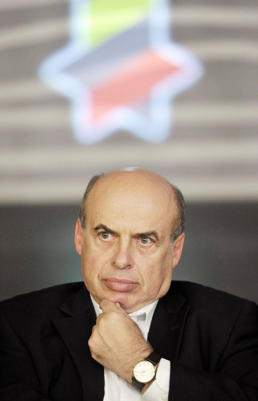Natan Sharansky, head of the Jewish Agency for Israel, says a strong Jewish identity will motivate free people to immigrate to Israel. (Associated Press)