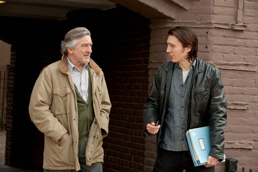 """The father-son relationship between Robert De Niro and Paul Dano is at the heart of """"Being Flynn,"""" based on a druggy coming-of-age memoir by Nick Flynn. (Focus Features via Associated Press)"""