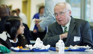 Kevin Concannon, USDA's undersecretary for food, nutrition and consumer services, testified before a House panel on Thursday. (Associated Press)
