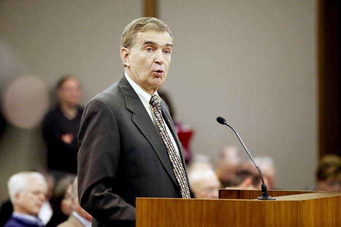 Sen. Emmett W. Hanger Jr. (AP Photo/Richmond Times-Dispatch, Eva Russo)