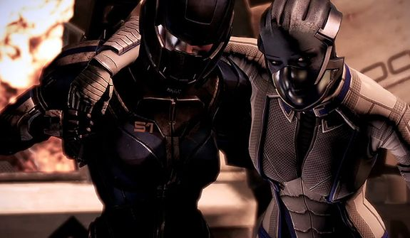Prepare to help the injured in a war against the Reapers in the video game Mass Effect 3.